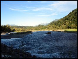 Chilliwack River by Zhaana
