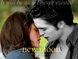 new moon poster 3 by JosefineTwilight