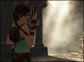 The Colosseum - Lara Croft by andersoncathy