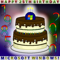 HBD Microsoft Windows by ppgrainbow