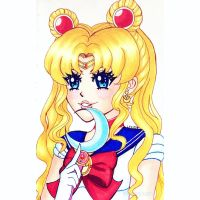 She's the one...Sailor Moon! by MystiqueLexi