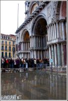 High Water in Venice by Flanegan
