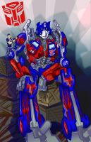 Optimus Prime Fresh Ink by mannycartoon