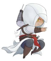 Assassin Chibi Altair by Aidiki-chan