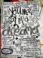 you may say im a dreamer by Zaty