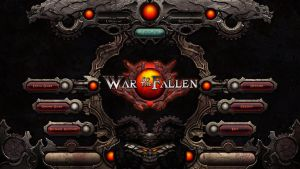 War of the fallen UI by ashramek