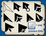 Pointer Brushes by roula33