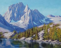 Sierra Mountains Nevada by artsaus