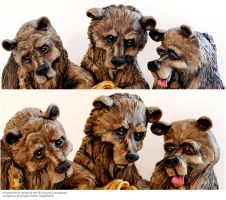 J. Scott Cambell's Goldi Bears by ButterflyInDisguise