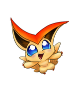 Victini by ANDILION5356