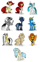 Alicorn Batch by theluckyangel