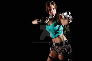 Lara Croft Disheveled 4 by JennCroft