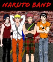 Naruto Band by MartineLand