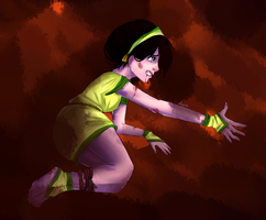 Toph Bei Fong:) by Anny96