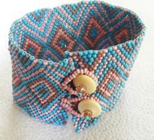 Indian style band Bracelet by sweetdream20