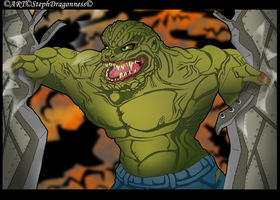 DC: Waylon Jones~ Killer Croc by StephDragonness