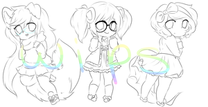 Wips by Rainbowstarrs