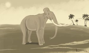 Colombian Mammoth by Louisetheanimator