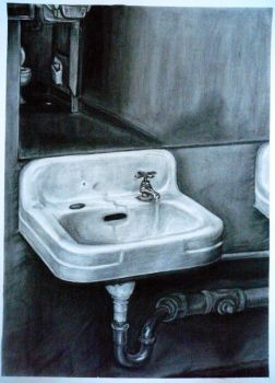 lady's Bathroom by PeachyWitchy