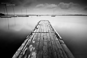 Wooden Dock by WojciechDziadosz