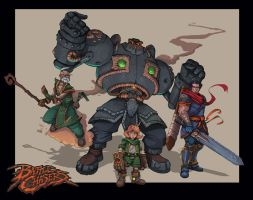 Battle Chasers by Teratophile