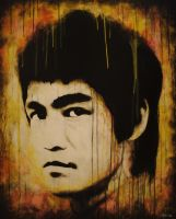 Bruce Lee by GilbertCantu