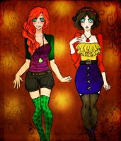 Ariel and Snow White by Lexy-06