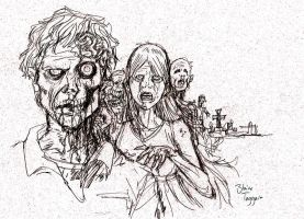 Zombie Sketch by staino