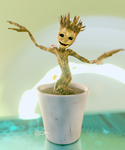 I'm ... GROOT ! by conique2001
