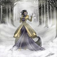Silent as the snow by oOo-Belise-oOo