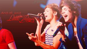 Little  Things-Larry  Stylinson  Wallpaper by JoDirectioner