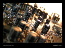 Capacitor Landscape by rotane
