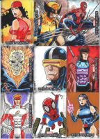 Marvel Beginnings 3 set 6 by wardogs101