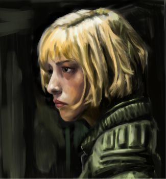 Cassandra Anderson / Olivia Thirlby from Dredd by xey-os