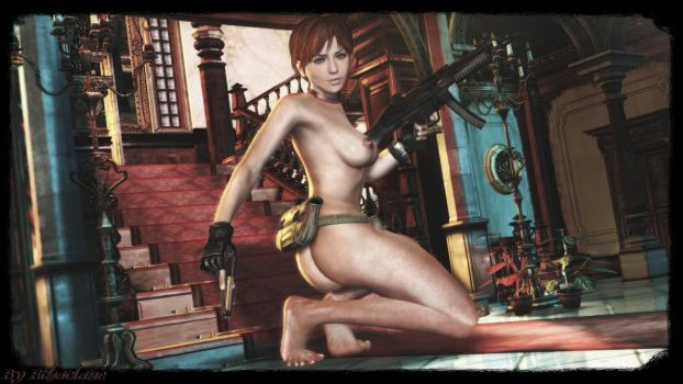 Resident Evil - sexy Rebecca Chambers  wallpaper by ethaclane