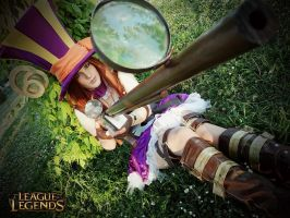 Caitlyn Cosplay from League of Legends by HoroVonKaida