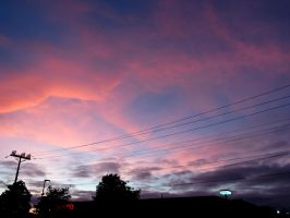 Love in the Sky by Michies-Photographyy