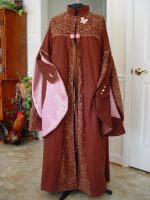 Harry Potter Dress robe-Luna by magic-needle
