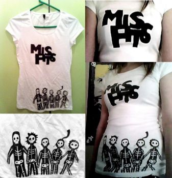 Misfits t-shirt. by pandaen