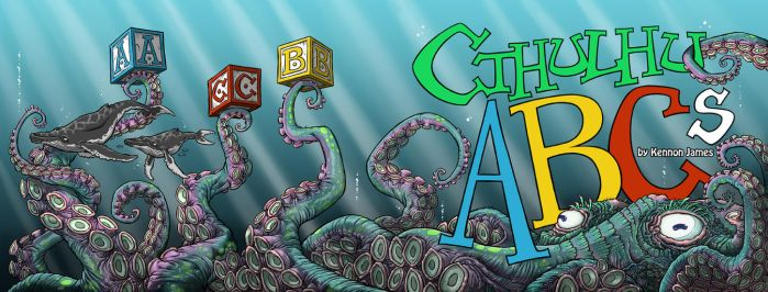 Cthulhu ABCs cover by Kennon9