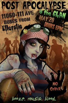 zombie rugby by BrentSmith-aloadofBS