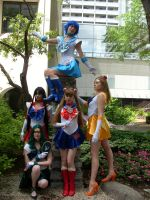 All my Senshi by UsagiHikaru