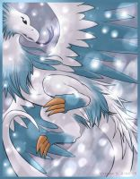 Snow Wyvern by princess-phoenix