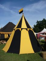 medieval tent by mimose-stock