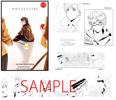 APH -- Possessive -- Doujins preview by aphin123