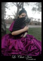 Victorian Dress by LeChatNoirCreations