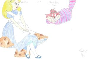 Alice in Wonderland by martinx17