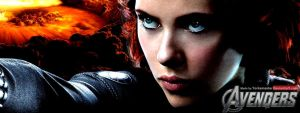The Avengers: Black Widow Facebook Banner by YorkeMaster