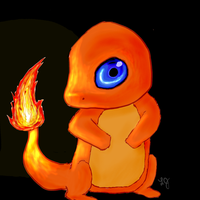 Charmander: 004 by TheSunbird