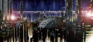 Coruscant by WISHKER
